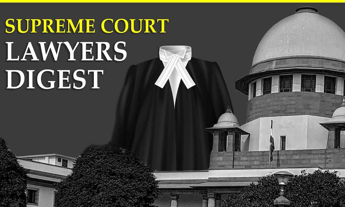 Supreme Court Lawyers Digest