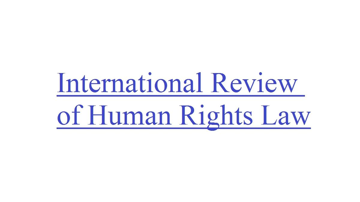Call for Papers: International Review of Human Rights Law, 6th Issue (Submit by September 29)
