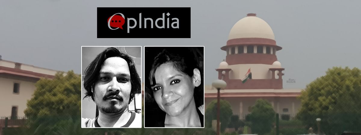 Supreme Court stays FIRs against Nupur Sharma, Ajeet Bharti and other OpIndia editors and writers; issues notice to State of West Bengal