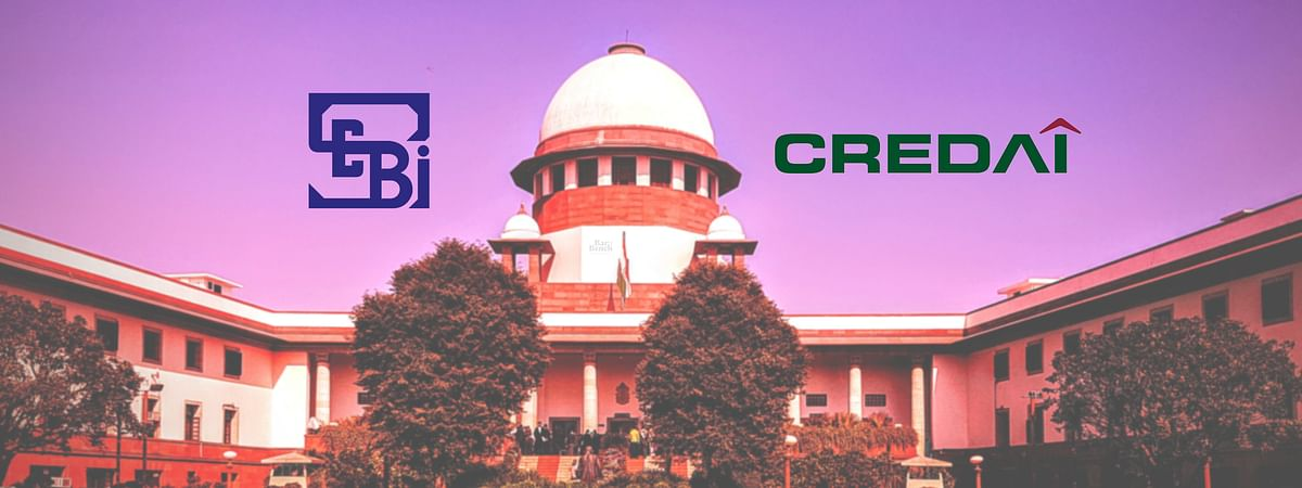 CREDAI's plea seeking relief for NBFCs under RBI circular on moratorium appears to be proxy litigation: SEBI tells Supreme Court