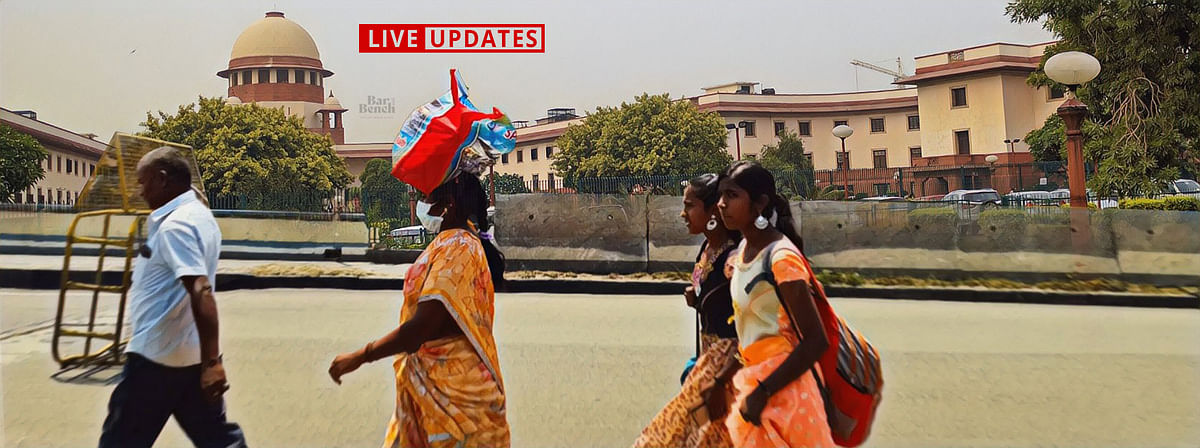 [Migrant Crisis] Supreme Court hears Suo Motu case - Day 2: LIVE UPDATES
