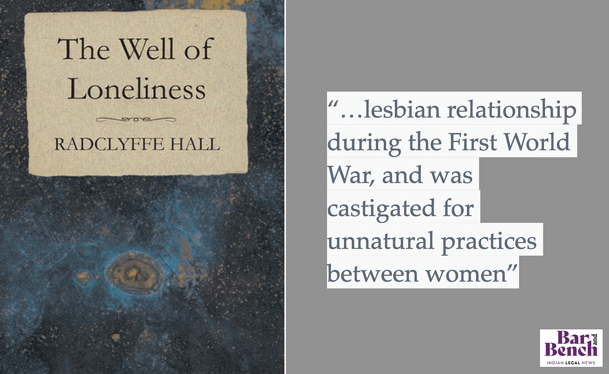 BANNED: 'The Well of Loneliness' by Radclyffe Hall was a book that revolved around a lesbian relationship during the First World War
