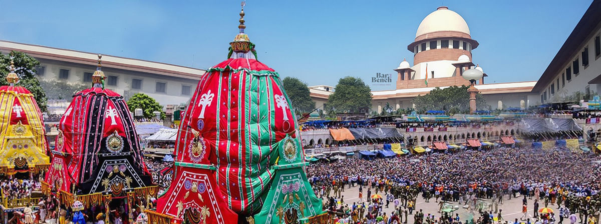 "[Breaking] ""Lord Jagannath won't forgive us if we allow it"", Supreme Court stays annual Rath Yatra in Puri due to COVID-19"