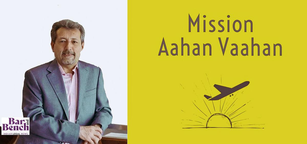 Dignifly: AZB's Ajay Bahl sponsors fourth flight of NLSIU Alumni's Aahan Vaahan Mission