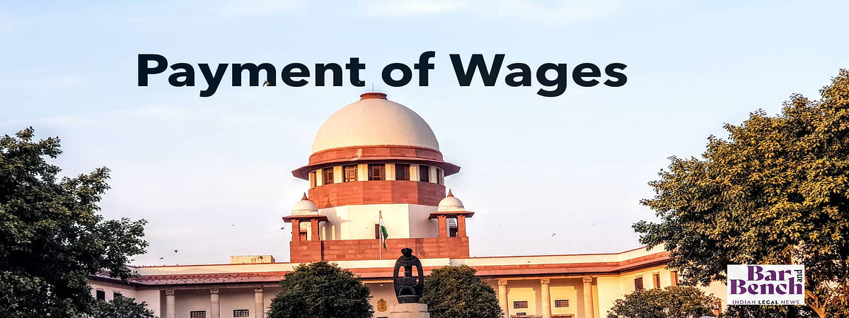 SC Payment of wages