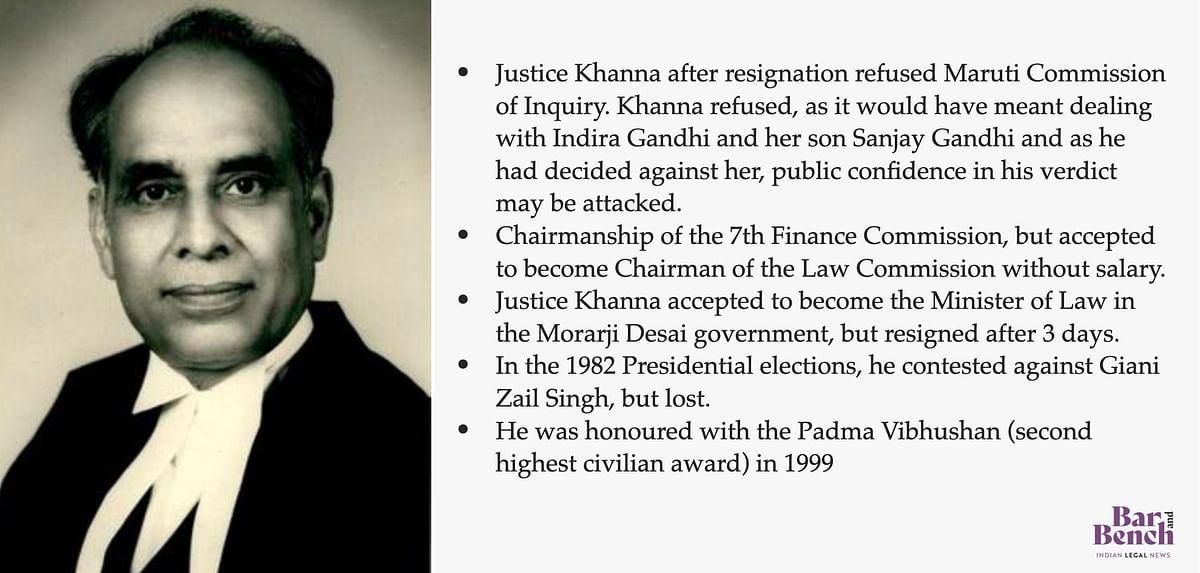 Justice Hans Raj Khanna