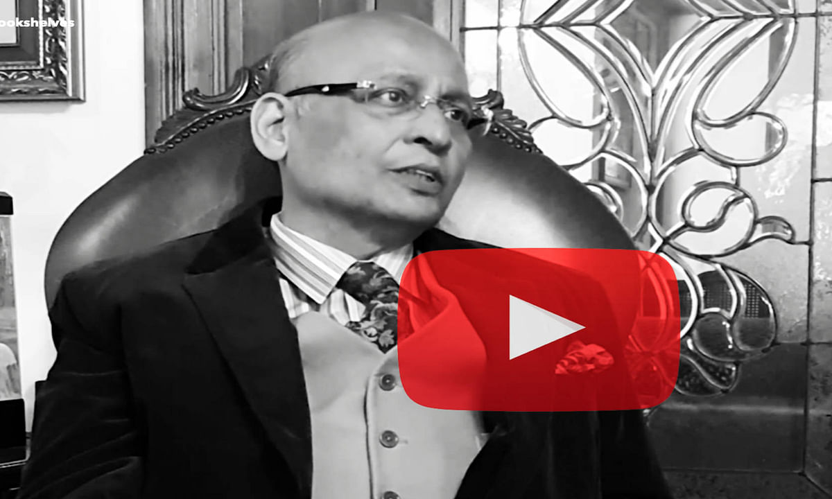 Abhishek Singhvi - Behind the Bookshelves
