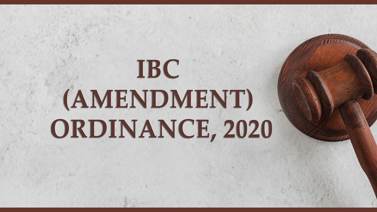 "Impact Of The IBC Amendment Ordinance, 2020 – The importance of ""Default"" and alternative remedies"