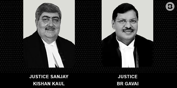 Sanjay Kishan Kaul and BR Gavai