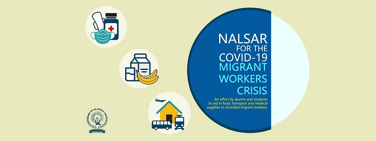 Call to aid: NALSAR students and alumni raise funds to aid Migrant Workers stranded amid COVID-19