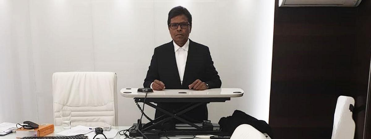 Advocate Chidanandayya's setup for VC hearings