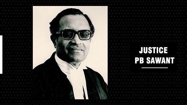Former Supreme Court Judge, Justice PB Sawant passes away