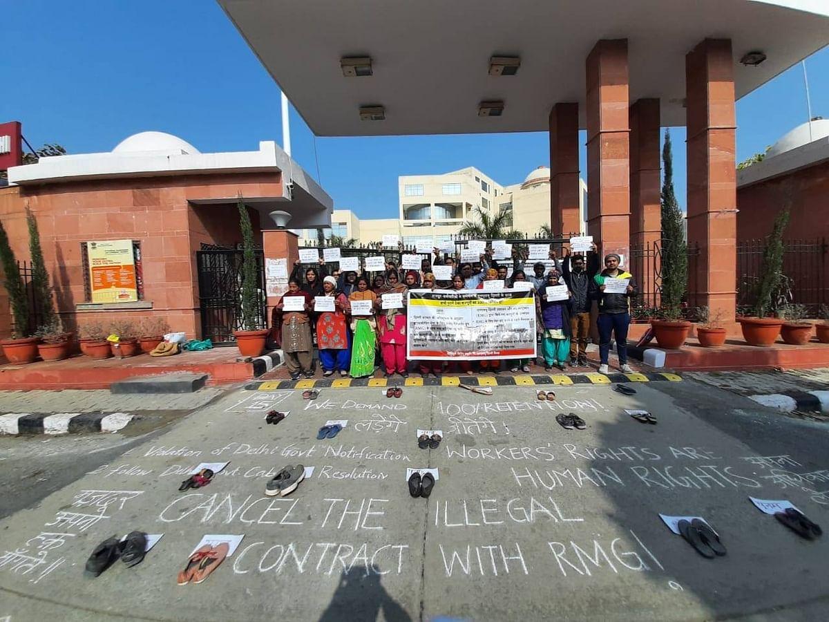 Lawyers, activists, alumni urge NLU Delhi administration to reinstate terminated Safai Karamcharis