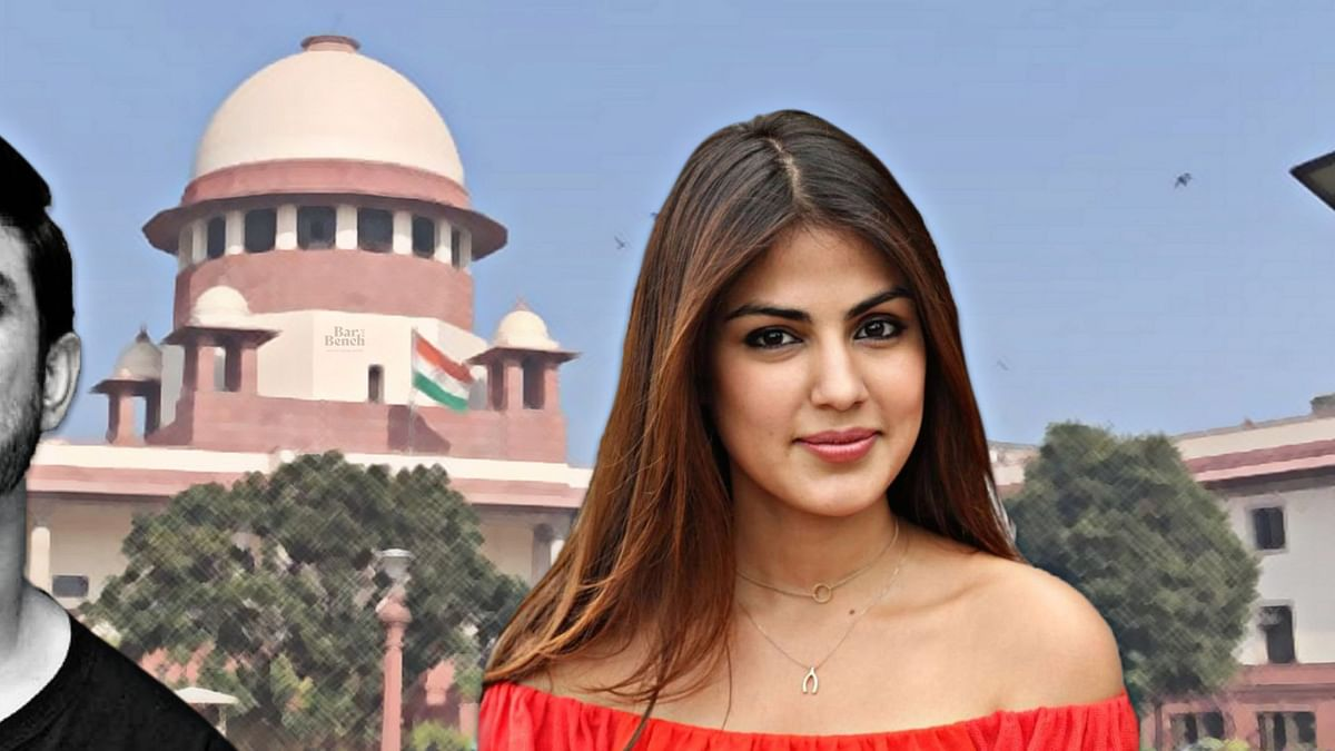 You can come here only if you challenge the bail order: Supreme Court to hear Centre's plea against Rhea Chakraborty bail order next week