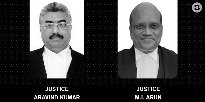 The Bench hearing the pleas against the conduct of KCET today