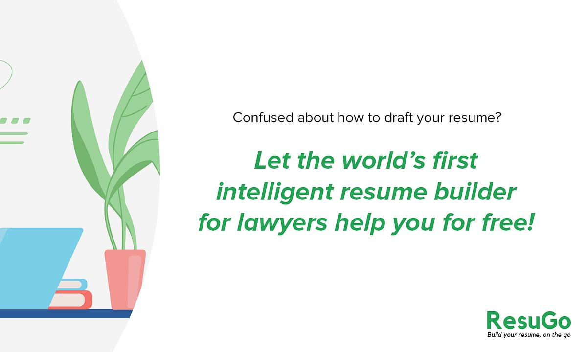 #Sponsored: Why you should create your Law Resume on ResuGo – the World's first Resume Builder for Law Students and Lawyers