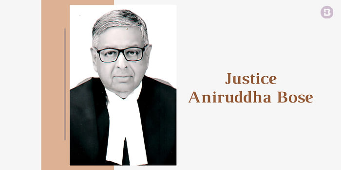 [Narada Case] Justice Aniruddha Bose recuses from hearing appeals by State, CM Mamata Banerjee, Law Minister against Calcutta High Court order
