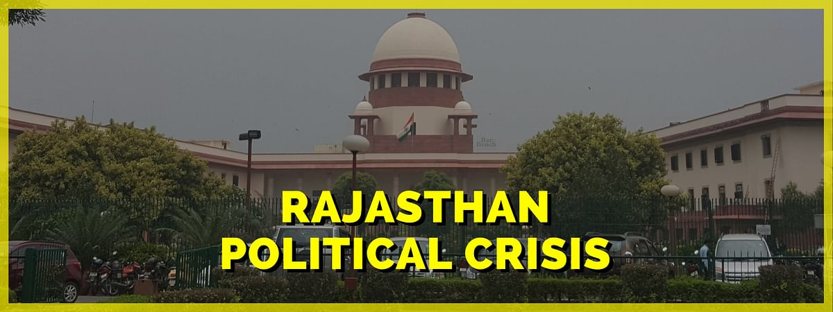 Rajasthan Political Crisis reaches Supreme Court