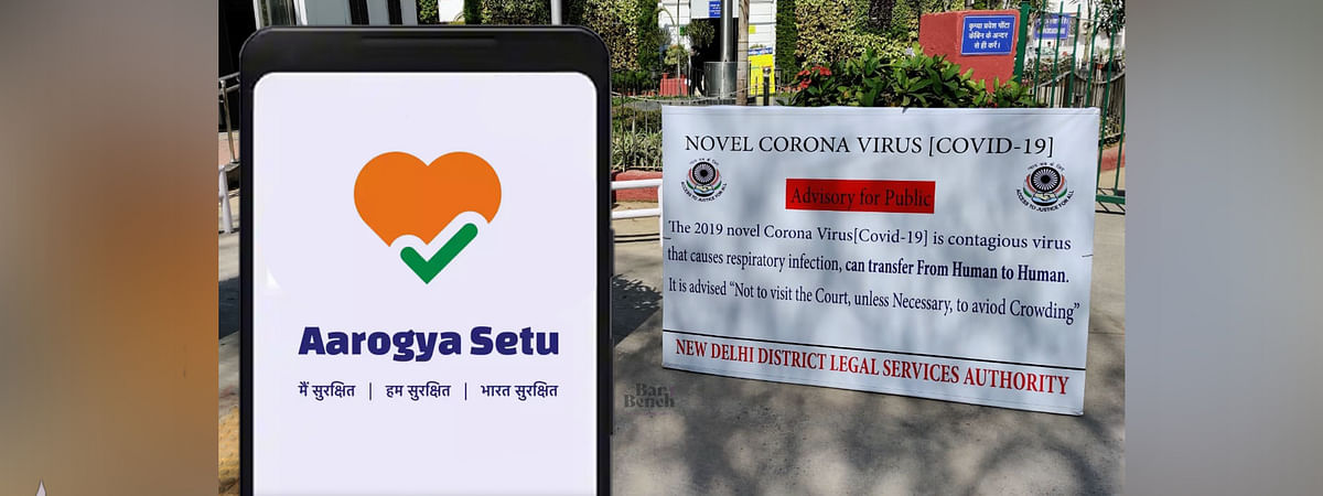 Delhi District Court- To deal with COVID-19, certain court complexes have made the use of Aarogya Setu mandatory to secure entry in their premises.