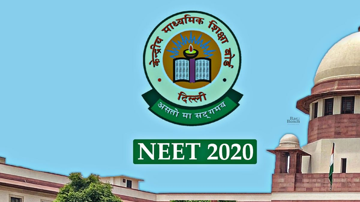 Supreme Court hears pleas concerning NEET 2020 [LIVE UPDATES]