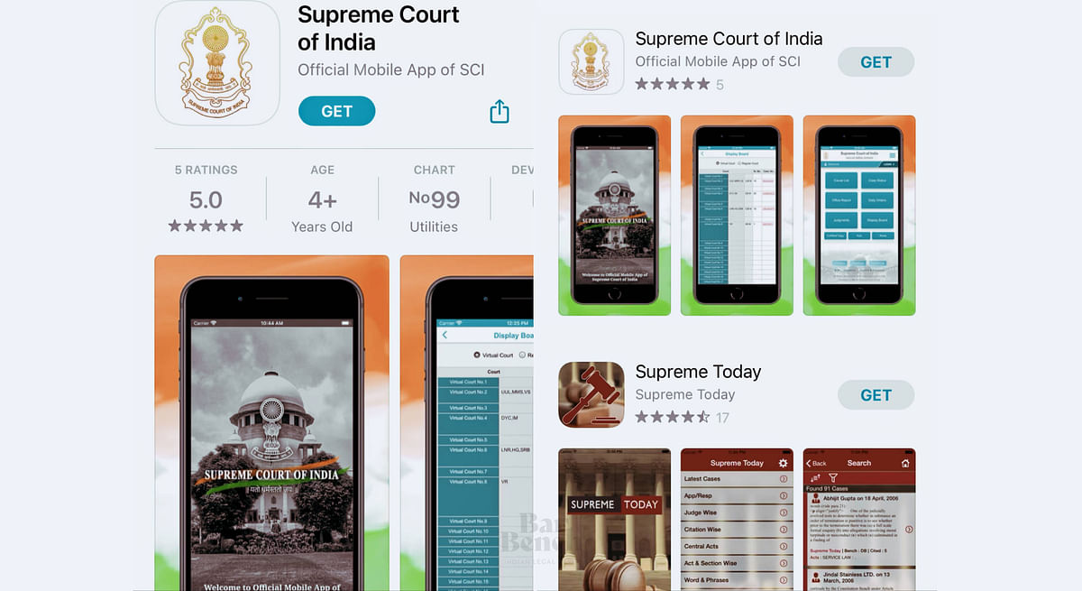 Supreme Court mobile application now on iOS, five vernacular language options for users
