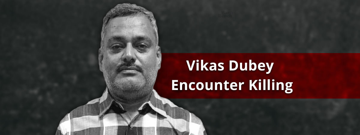 An application for reconstitution of inquiry committee to probe Vikas Dubey encounter was heard by SC today