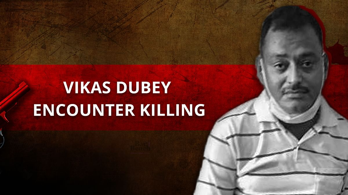 """[Vikas Dubey Encounter] """"Appalled that such a person was released on bail"""", SC observes; directs UP govt to reconstitute probe committee"""