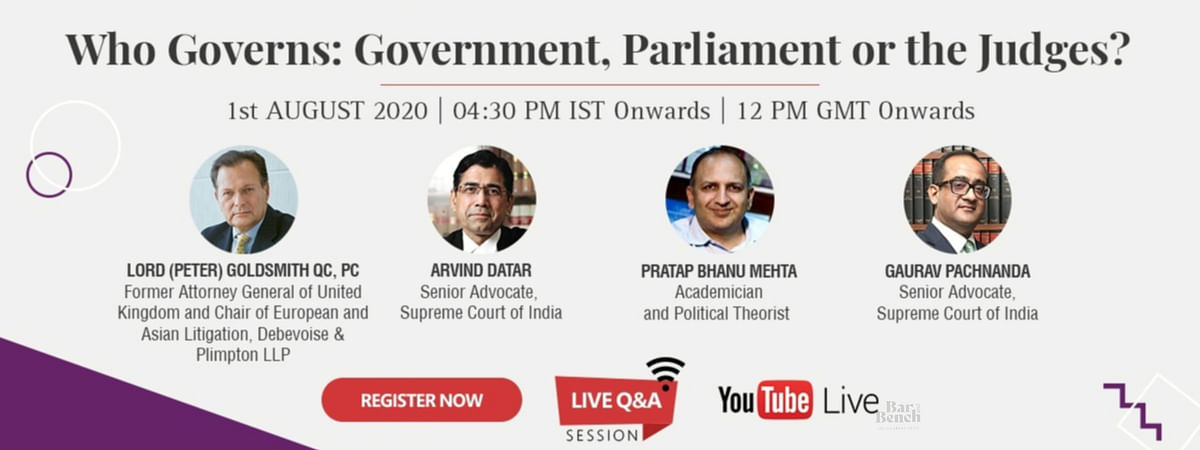 Who Governs: Government, Parliament or the Judges