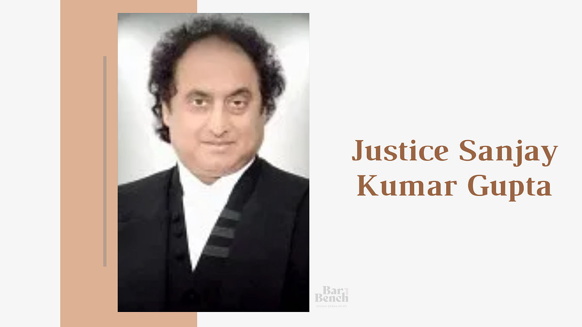 Justice Sanjay Kumar Gupta, sitting judge of Jammu & Kashmir High Court passes away