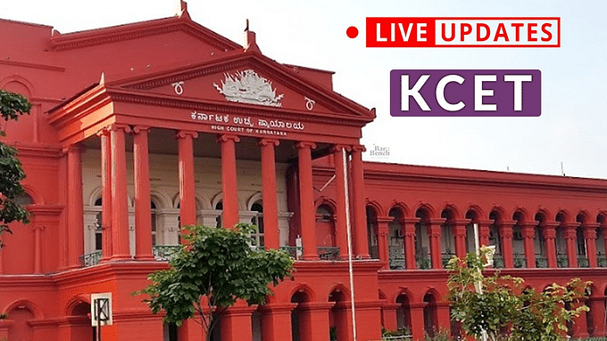 Karnataka HC hears pleas challenging conduct of Karnataka CET amid COVID-19 [LIVE UPDATES]