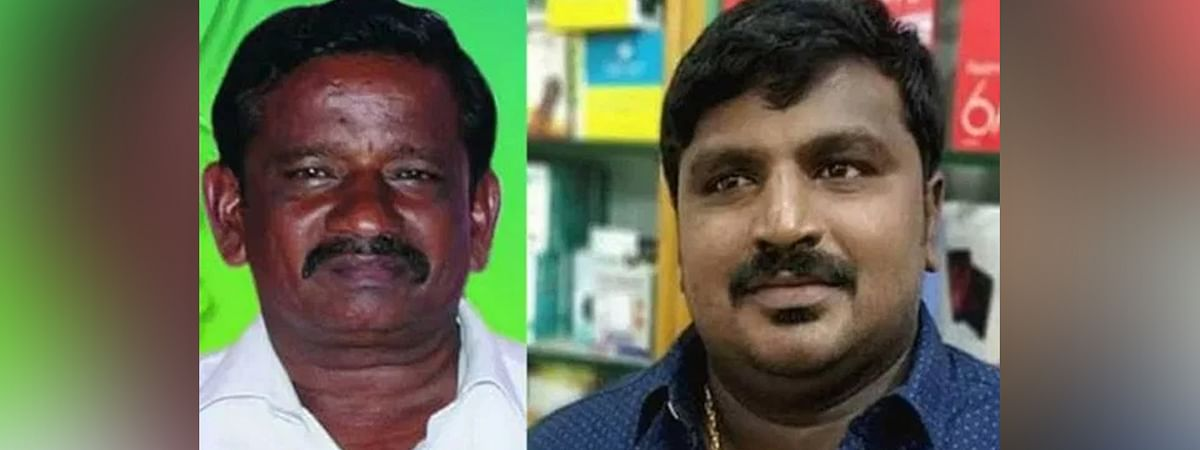 Jeyaraj (L) and his son Bennix (R) died while in the custody of the Sathankulam Police following their arrest on June 19 citing a violation of the COVID-19 curfew