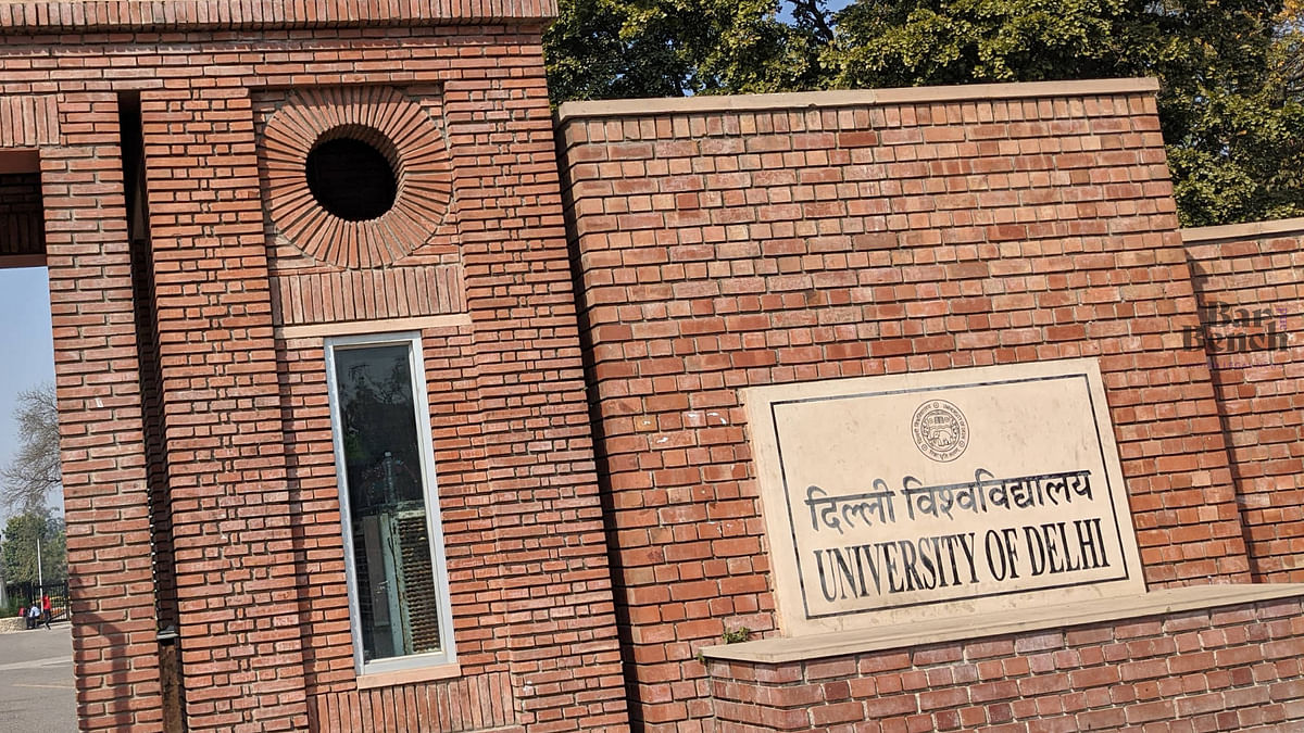 Delhi HC grants time to DU, UGC to file reply in pleas challenging online open-book examination
