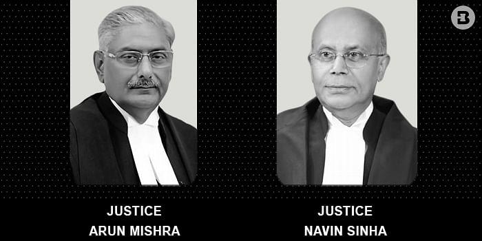 J Arun Mishra, J Navin Sinha