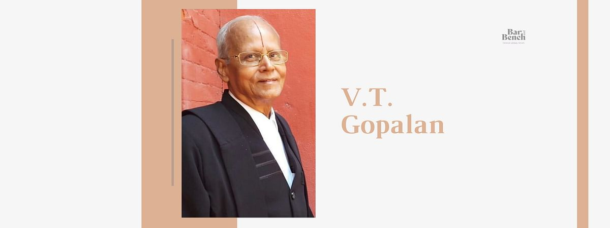 Former Additional Solicitor General VT Gopalan passes away