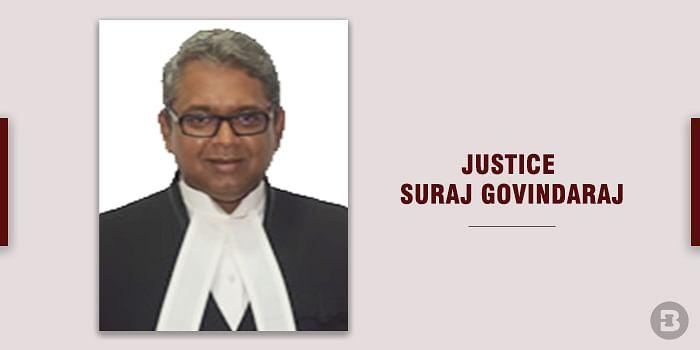 Justice Suraj Govindaraj