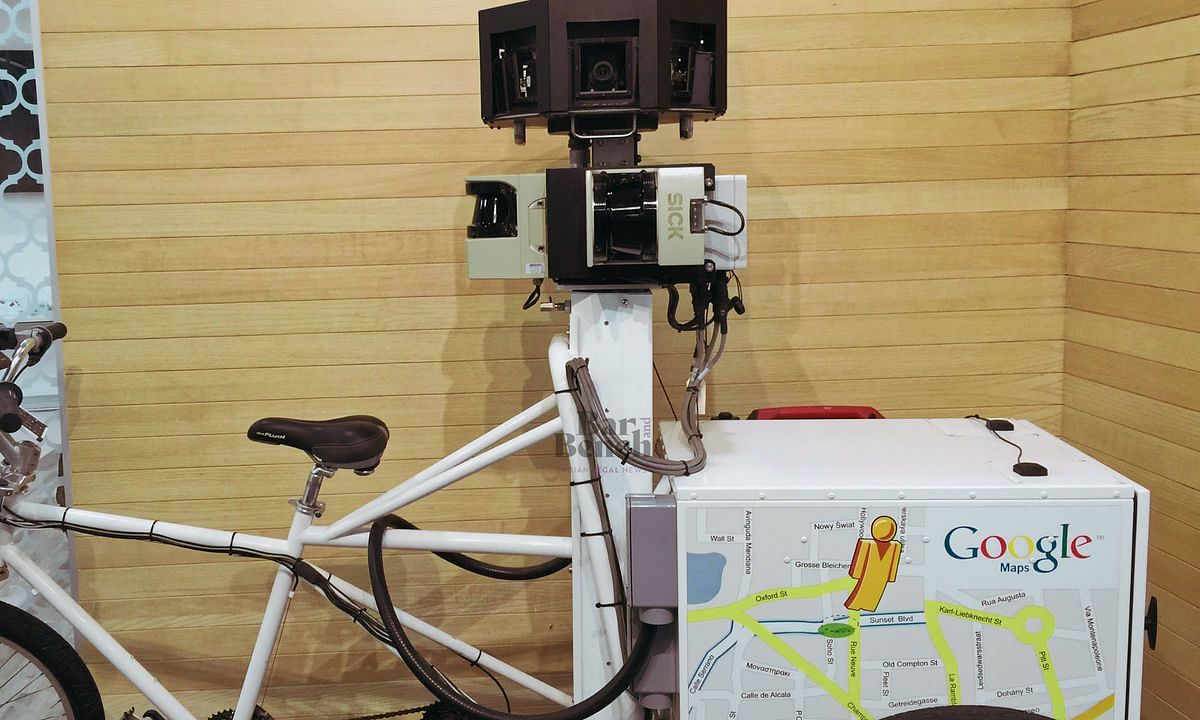 Google Cycle with Street View Camera