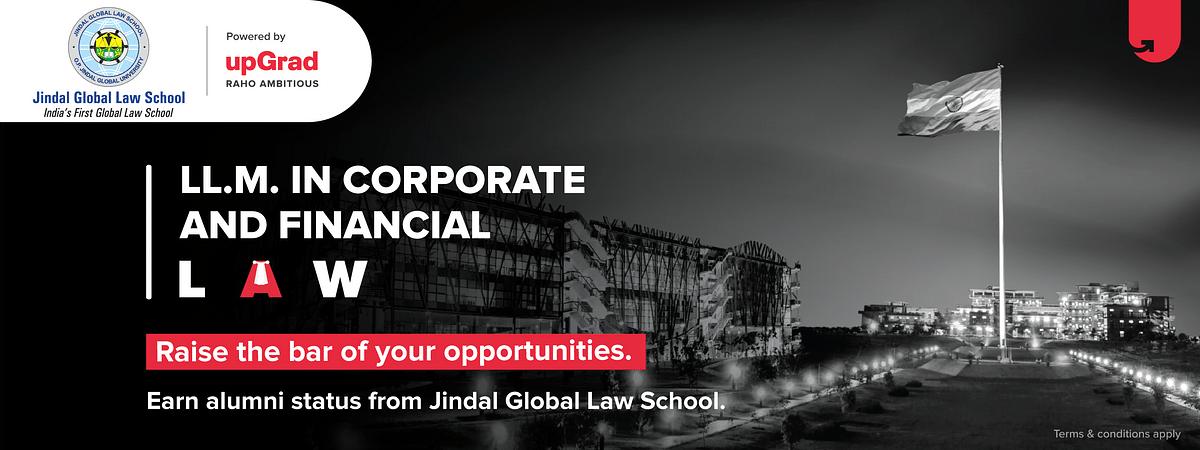 JGLS' LL.M. in Corporate & Financial Law