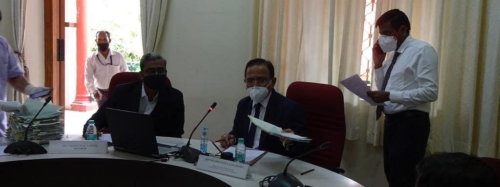 First virtual Lok Adalat conducted in Karnataka by High Court Legal Services Committee disposes of 31 cases