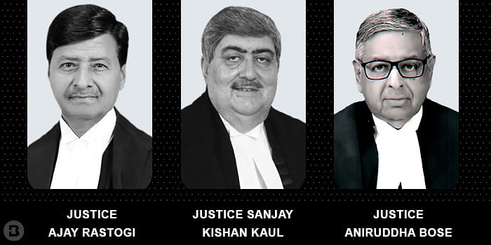 Ajay Rastogi, Sanjay Kishan Kaul,  Aniruddha Bose
