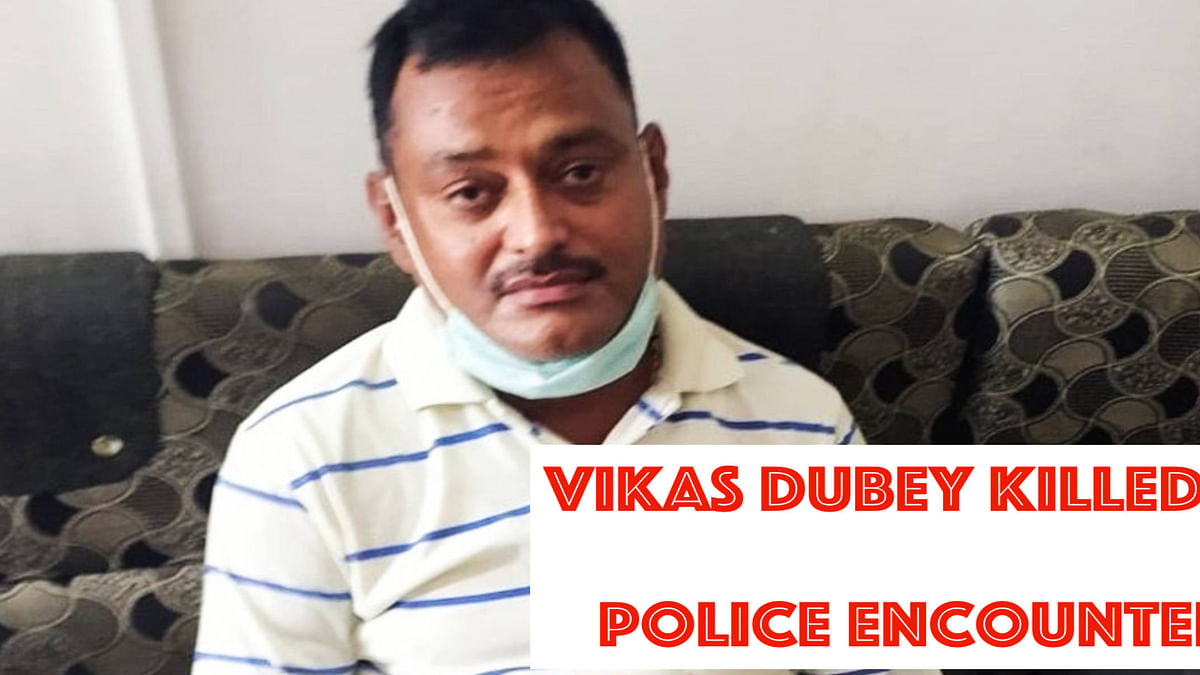 Hours before gangster Vikas Dubey's encounter killing, plea was filed before Supreme Court apprehending his death and seeking protection