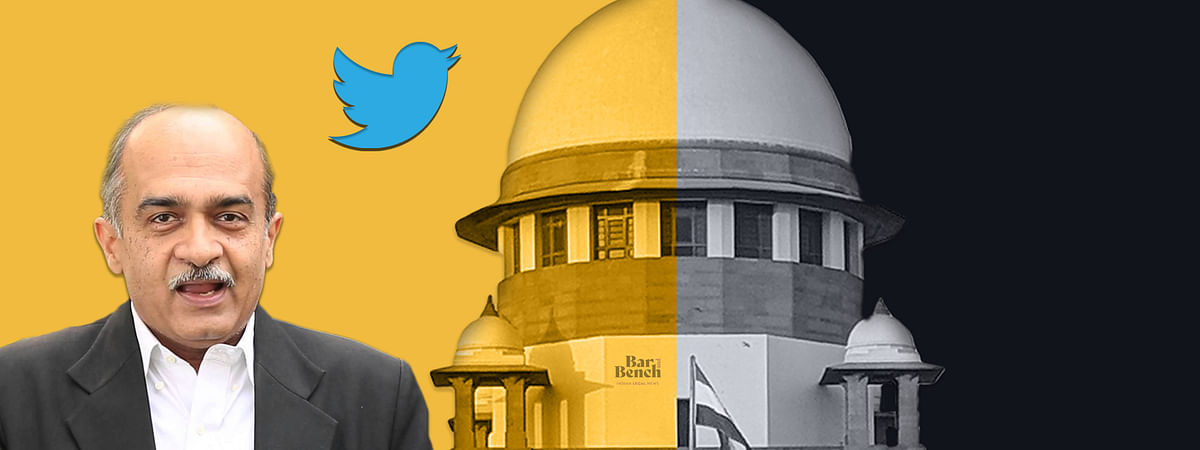 Prashant Bhushan tweets in Question before Supreme Court