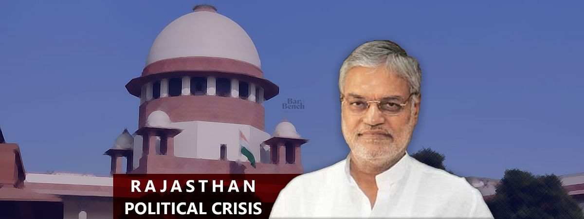 [Breaking] Rajasthan Political Crisis: Dissenting voice in democracy cannot be shut down, SC refuses to restrain Rajasthan HC proceedings