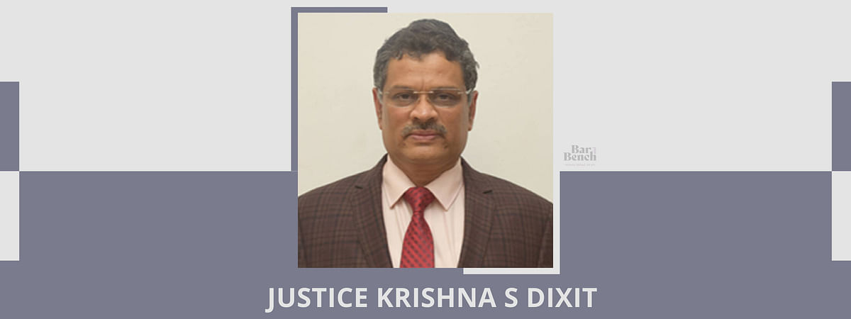 Breaking: Justice Krishna Dixit expunges part of bail order containing controversial remarks against rape victim