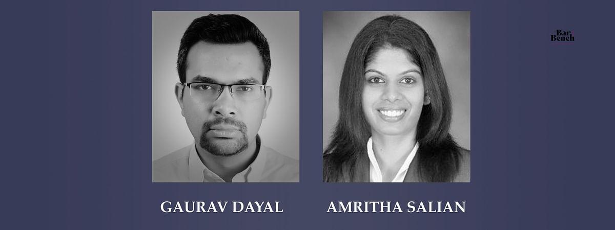 Gaurav Dayal and Amritha Salian