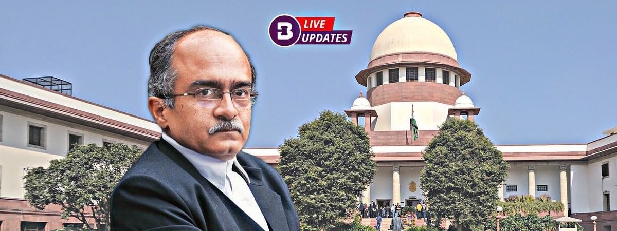 Verdict on Prashant Bhushan's sentencing in contempt case over tweets: LIVE updates from Supreme Court