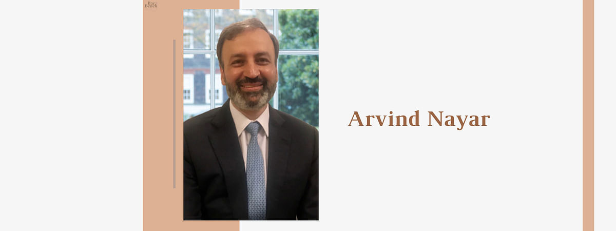 Senior Advocate Arvind Nayar called to 4 New Square as Door Tenant