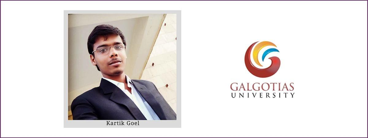 Meet our Campus Ambassadors: Kartik Goel, Galgotias University