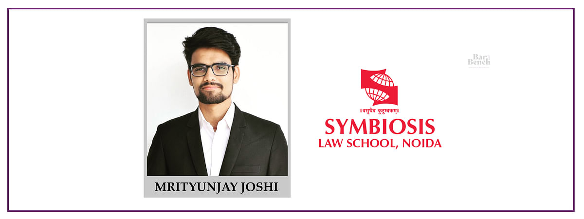 Meet our Campus Ambassadors: Mrityunjay Joshi, SLS Noida