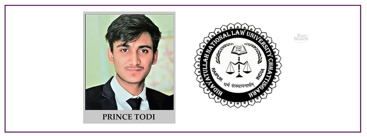 Meet our Campus Ambassadors: Prince Todi, HNLU