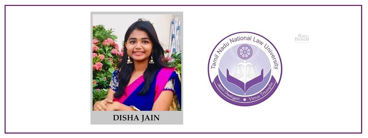Meet our Campus Ambassadors: Disha Jain, TNNLU